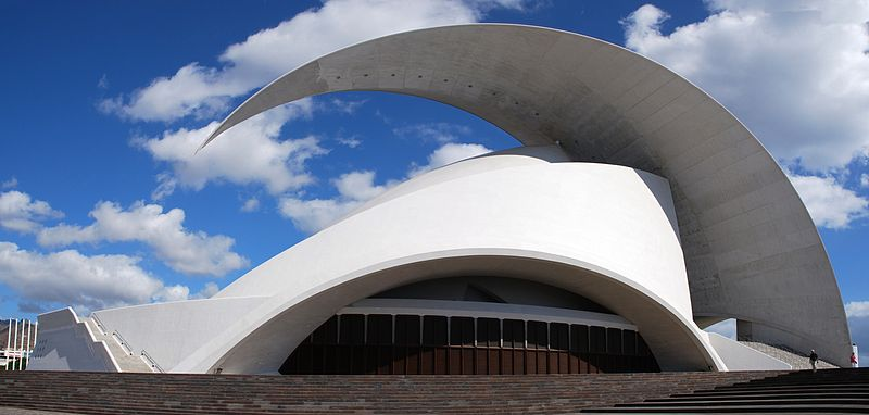 AAA Auditorium of Tenerife, Santa Cruz de Tenerife, Spain W Lady Slaw