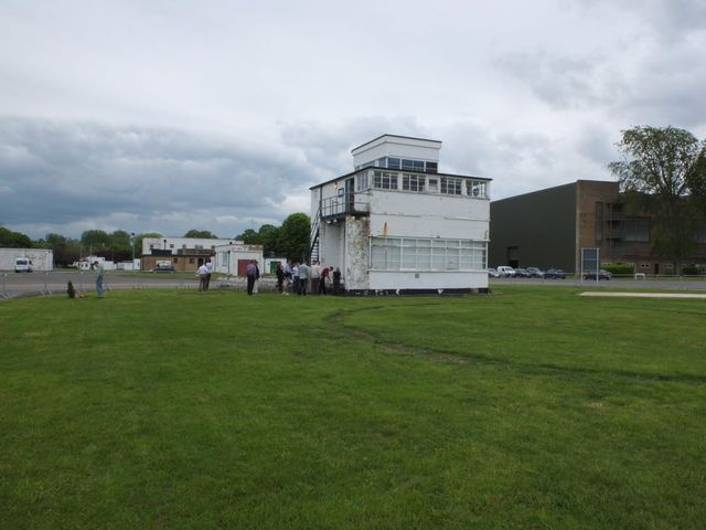 AAA Bassingbourn WWII Air Control Tower Copyright Jake Schroeder