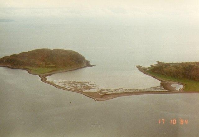 AAA Davaar Island Showing Dhorlin Causway Raymond Okonski