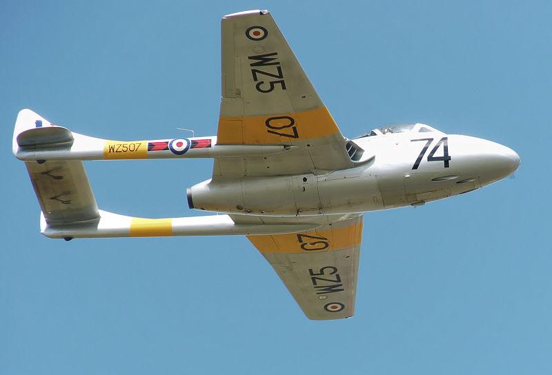 AAA De Havilland Vampire T11 Adrian Pingstone