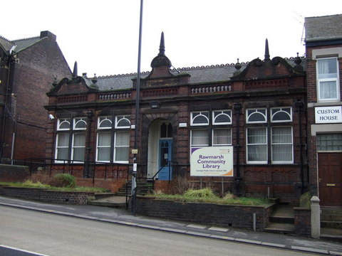 AAA Former District Office and Library, Rawmarsh Hill, Parkgate, Rotherham, S62 6DS J Thomas