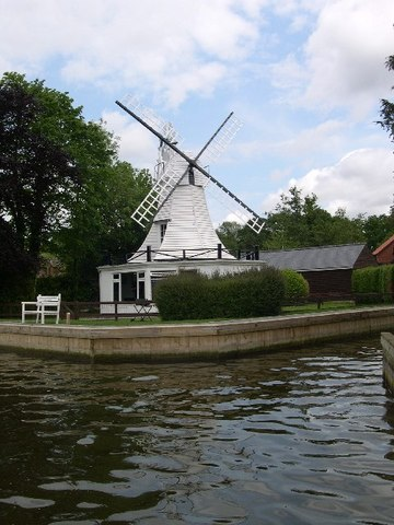AAA Horning Windmill Colin Mitchell as featured in Unique Property Bulletin