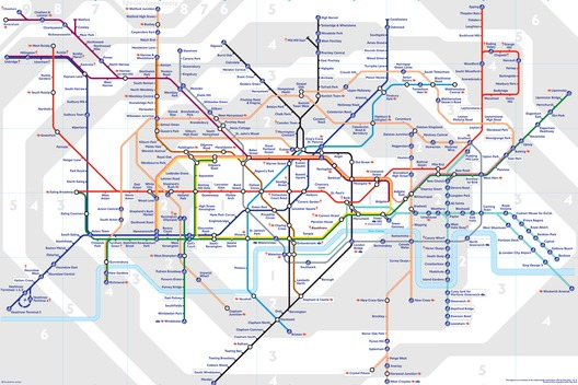 AAA London Underground Iconic Map