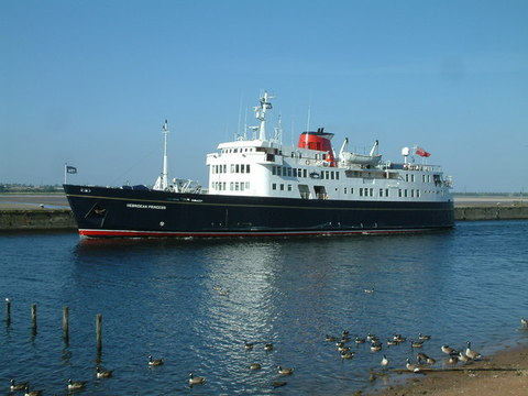 AAA MV Hebridean Princess Formerly MV Columba Photo By Neil Kennedy