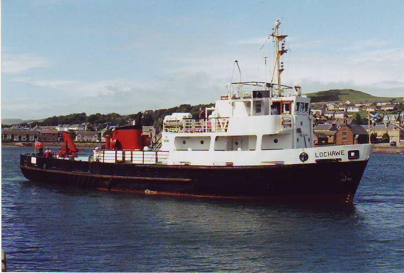 AAA MV Lochmor Russ McLean
