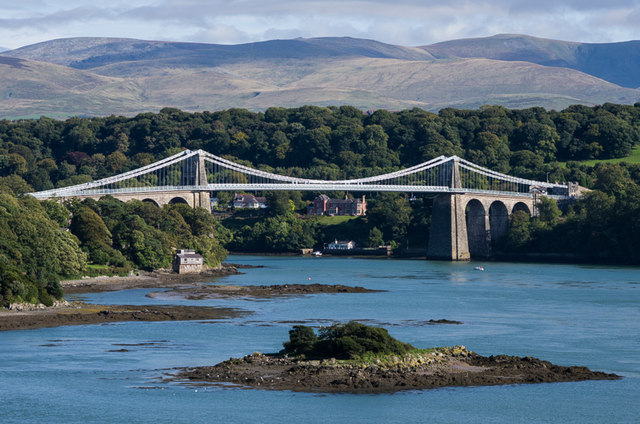 AAA Menai Strait Bridge Ian Capper