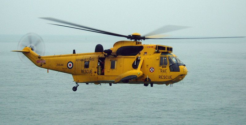 AAA RAF SAR Rescue Helicopter Marcus Roos