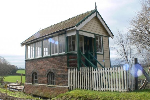 AAA Signal Box Forden featured in Unique Property Bulletin