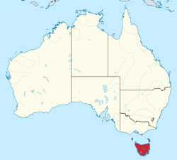 AAA Tasmania Location