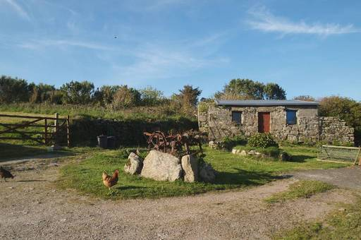 AAA The Old  Barn, Leswidden Farmhouse, Leswidden, St. Just, Penzance, Cornwall, TR19 7RU
