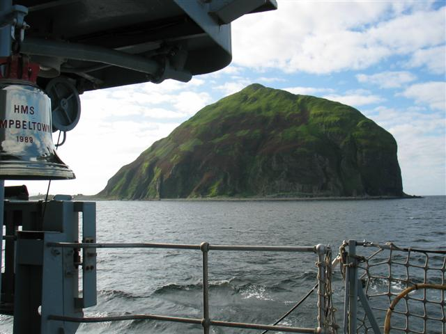 Ailsa Craig Lighthouse Compound - Just Behind The Bell Johnny Durnan