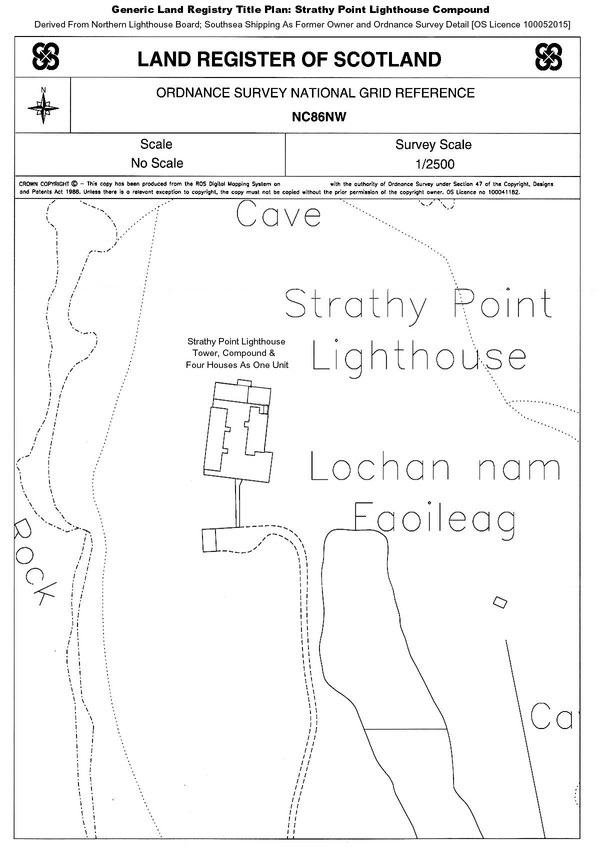 RSZ Strathy Point Lighthouse ONE COMMERCIAL Unit Title Plan RSZ