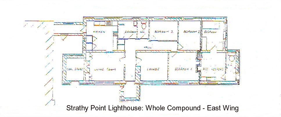 Strathy Point Lighthouse ONE COMMERCIAL Unit East Wing