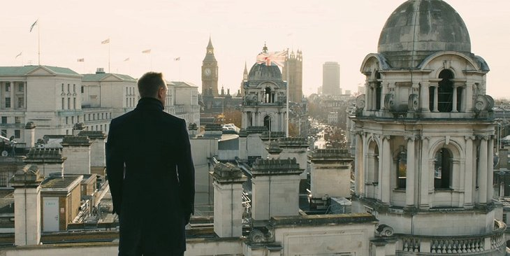 London's Trinity Building In 007 James Bond Film Skyfall