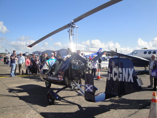 Gyrocopter From Ayrshire