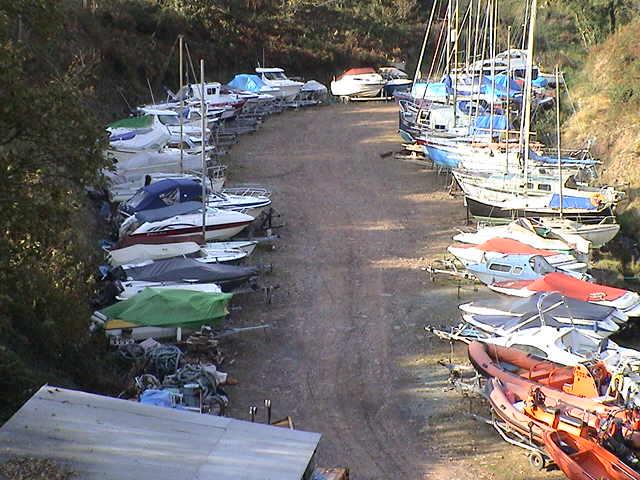 Rudders Boatyard Boat Storage Facility